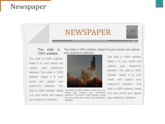 Newspaper Ppt PowerPoint Presentation Professional Outfit