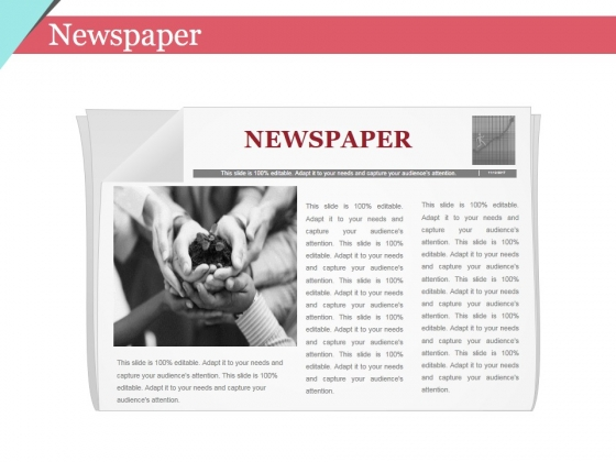 Newspaper Ppt PowerPoint Presentation Professional Structure