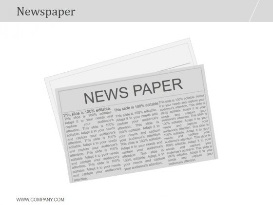 Newspaper Ppt PowerPoint Presentation Samples