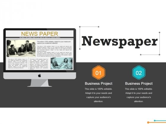 Newspaper Ppt PowerPoint Presentation Styles Designs
