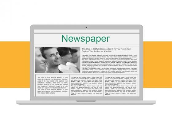 Newspaper Ppt PowerPoint Presentation Styles Slides