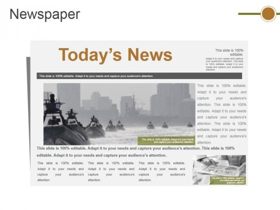 Newspaper Ppt PowerPoint Presentation Summary Example File