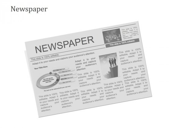 Newspaper Ppt PowerPoint Presentation Summary