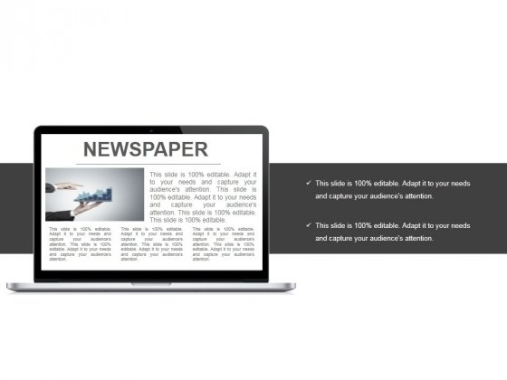 Newspaper Ppt PowerPoint Presentation Summary Template