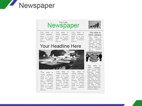 Newspaper Ppt PowerPoint Presentation Tips