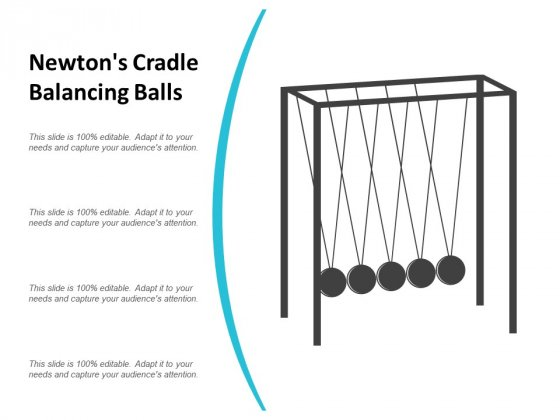 Newtons Cradle Balancing Balls Ppt Powerpoint Presentation Pictures Example