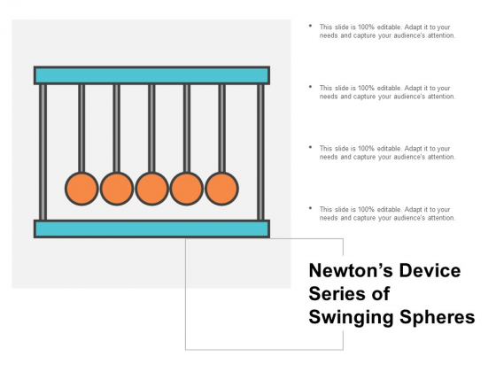 Newtons Device Series Of Swinging Spheres Ppt Powerpoint Presentation Professional Graphic Tips