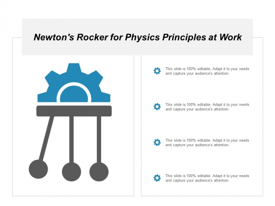 Newtons Rocker For Physics Principles At Work Ppt Powerpoint Presentation Layouts Layout