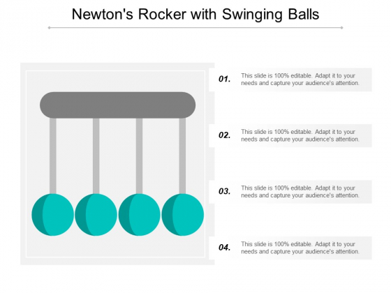Newtons Rocker With Swinging Balls Ppt Powerpoint Presentation Model Background Designs