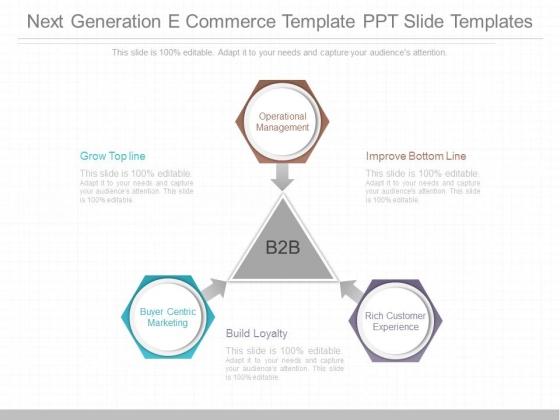Next Generation E Commerce Template Ppt Slide Templates