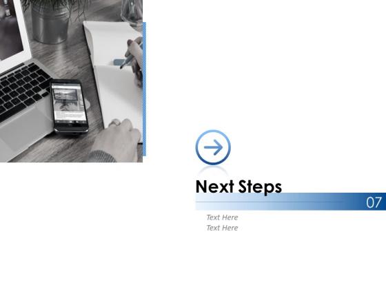 Next Steps Ppt PowerPoint Presentation Ideas Elements