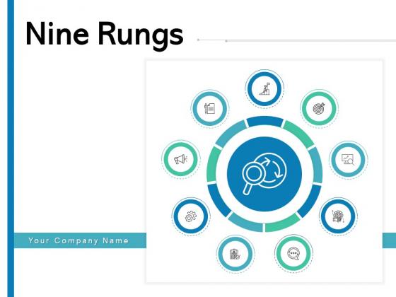 Nine Rungs Goal Marketing Ppt PowerPoint Presentation Complete Deck