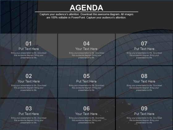 Nine Steps For Building Hr Agenda Powerpoint Slides