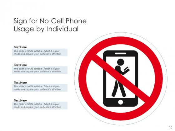 No_Mobile_Device_Icon_Representing_Road_Sign_Ppt_PowerPoint_Presentation_Complete_Deck_Slide_10