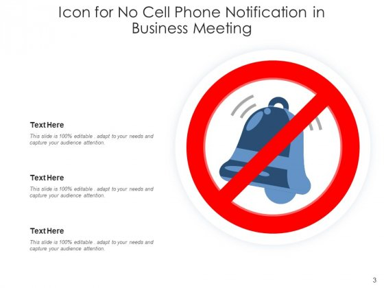 No_Mobile_Device_Icon_Representing_Road_Sign_Ppt_PowerPoint_Presentation_Complete_Deck_Slide_3