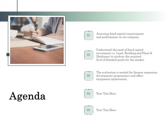 Non Current Assets Reassessment Agenda Graphics PDF