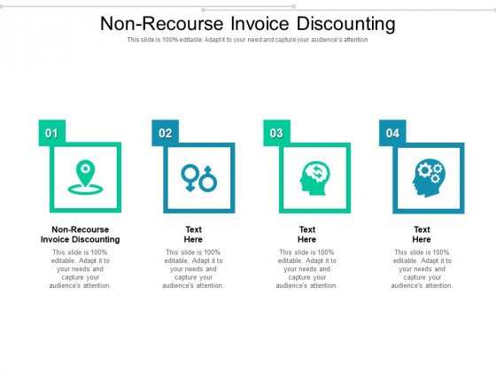 Non Recourse Invoice Discounting Ppt PowerPoint Presentation Professional Shapes Cpb Pdf