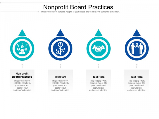 Nonprofit Board Practices Ppt PowerPoint Presentation Layouts Graphic Tips Cpb Pdf