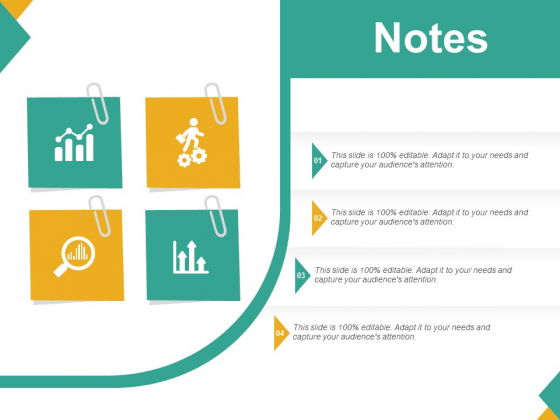 Notes Ppt PowerPoint Presentationmodel Brochure