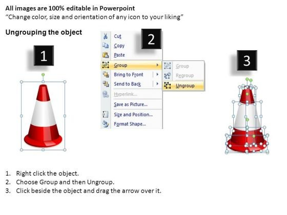 navigating_obstacles_changing_direction_traffic_cones_powerpoint_slides_2