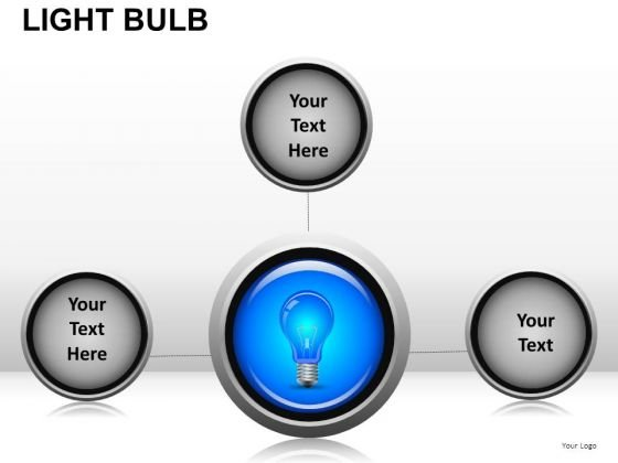 Network Light Bulb PowerPoint Slides And Ppt Diagram Templates