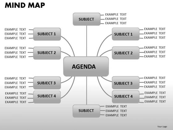 Network Mind Map PowerPoint Slides And Ppt Diagram Templates