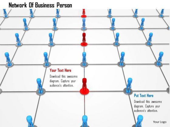 Network Of Business Person PowerPoint Templates