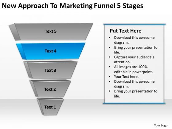 New Approach To Marketing Funnel 5 Stages Business Action Plan