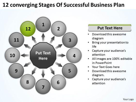 New Business PowerPoint Presentation Plan Circular Flow Spoke Network Slides
