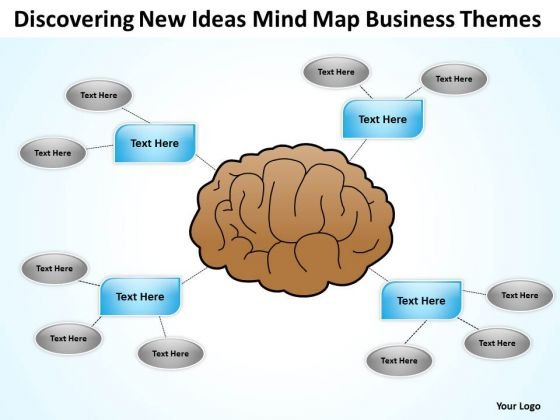 New Ideas Mind Map Business Themes Ppt Sample Plan PowerPoint Slides