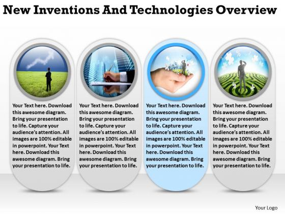 New Inventions And Technologies Overview Templates For Business PowerPoint Slides