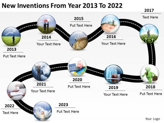 Roadmap powerpoint templates slides and graphics new inventions from year 2013 to 2022 powerpoint templates ppt slides graphics toneelgroepblik Image collections
