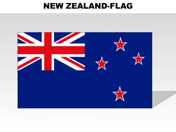 New Zealand Country PowerPoint Flags