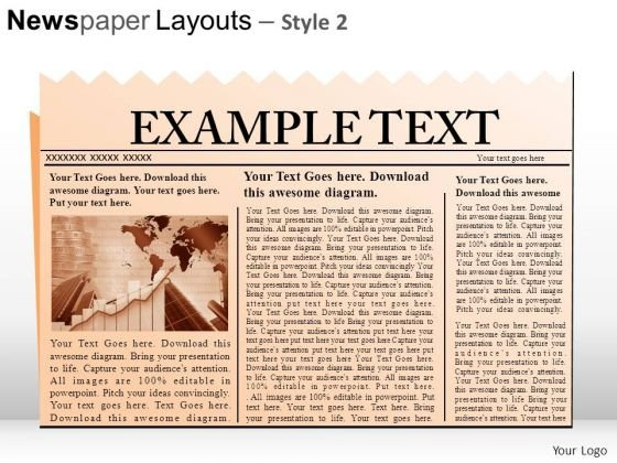 News Headlines PowerPoint Slides And Ppt Diagram Templates