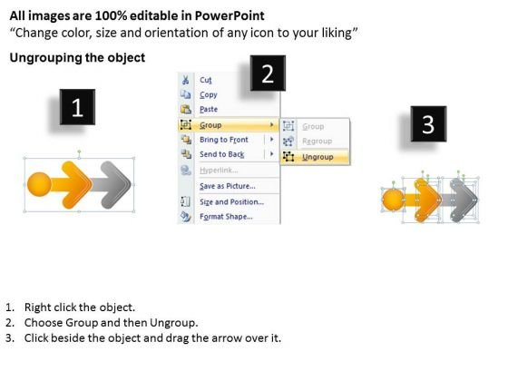 noticeable_arrow_presentation_2_stages_free_examples_of_business_plan_powerpoint_slides_2