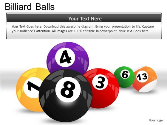 Numbers Billiard Balls PowerPoint Slides And Ppt Diagram Templates