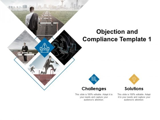 Objection And Compliance Template 1 Ppt PowerPoint Presentation File Slide