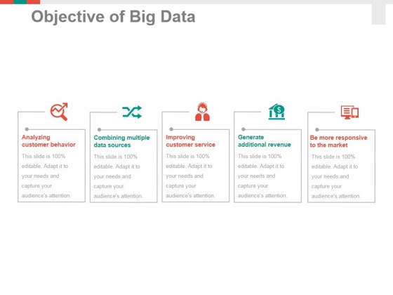 Objective Of Big Data Ppt PowerPoint Presentation Professional Sample