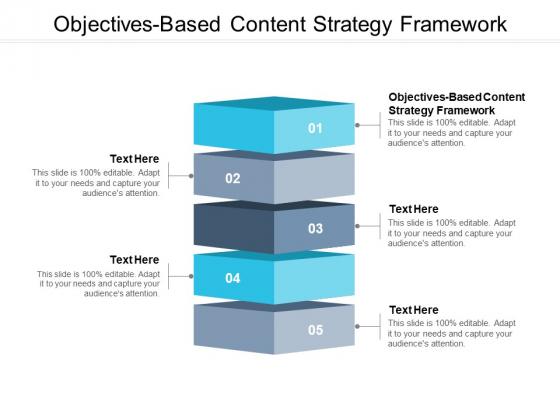 Objectives Based Content Strategy Framework Ppt PowerPoint Presentation Model Mockup Cpb Pdf
