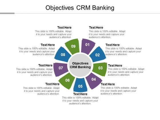Objectives CRM Banking Ppt PowerPoint Presentation Infographics Deck Cpb