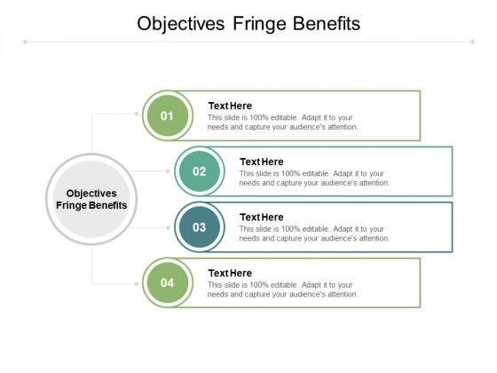 Objectives Fringe Benefits Ppt PowerPoint Presentation Layouts Pictures Cpb