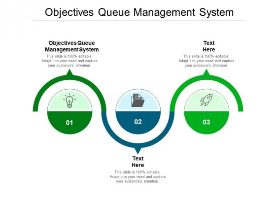 Objectives Queue Management System Ppt PowerPoint Presentation Infographics Outline Cpb Pdf