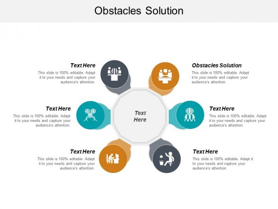 Obstacles Solution Ppt PowerPoint Presentation Samples Cpb