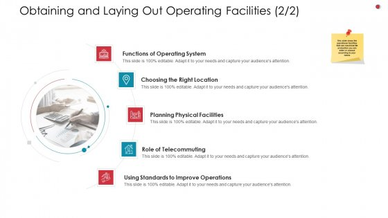 Obtaining And Laying Out Operating Facilities Location Business Analysis Method Clipart PDF