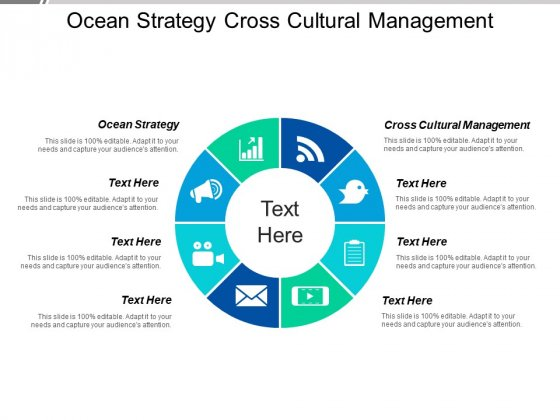 Ocean Strategy Cross Cultural Management Ppt PowerPoint Presentation Slides Backgrounds