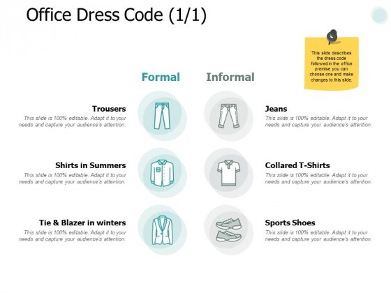 Office Dress Code Business Ppt PowerPoint Presentation Gallery Professional
