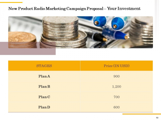 Offline_Promotional_Strategy_For_New_Product_Proposal_Ppt_PowerPoint_Presentation_Complete_Deck_With_Slides_Slide_10