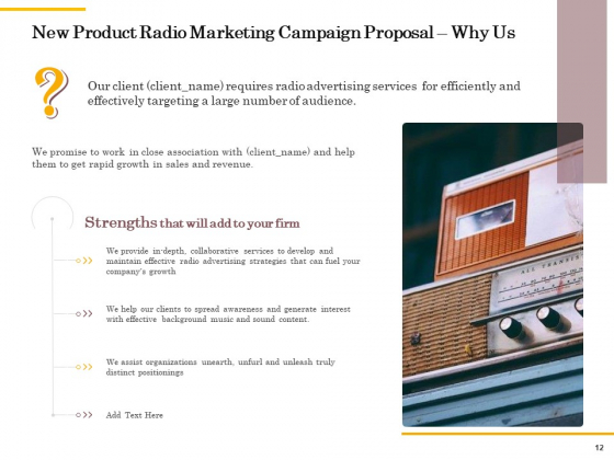 Offline_Promotional_Strategy_For_New_Product_Proposal_Ppt_PowerPoint_Presentation_Complete_Deck_With_Slides_Slide_12