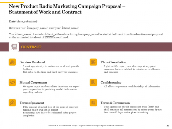 Offline_Promotional_Strategy_For_New_Product_Proposal_Ppt_PowerPoint_Presentation_Complete_Deck_With_Slides_Slide_22