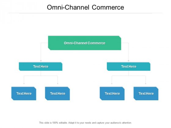 Omni Channel Commerce Ppt PowerPoint Presentation Ideas Pictures Cpb